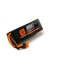 Spektrum 5000mAh 3S 11.1V Smart LiPo 30C Hardcase; IC3