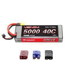 VNR VNR15057 DRIVE 40C 2S 5000mAh 7.4V LiPo HC ROAR :UNI 2.0