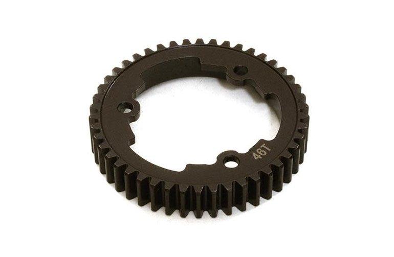 INT Billet Machined Steel Spur Gear 46T : XMaxx 4X4