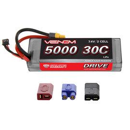 VNR DRIVE 30C 2S 5000mAh 7.4V LiPo HC ROAR  :UNI 2.0