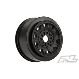 "Proline Racing Raid 2.2""/3.0"" Black Wheels for SC with 17mm Hex"