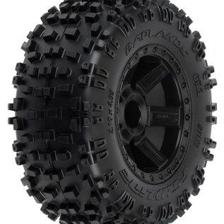 PRO R Badlands 2.8 TRA Mnt Desperado Whl, Blk:NST,NRU 12mm Hex