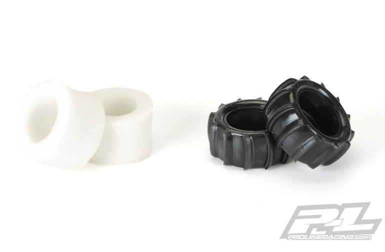 Proline Racing Fr R Sling Shot 3.8,TRA,Desp Wh,Blk 1/2 Offst,17mm