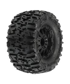 Proline Racing PRO117014 Trencher 2.8 TRA Style Bead,Mnt F-11 Blk Whl:RJATO