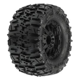 PRO PRO117014 Trencher 2.8 TRA Style Bead,Mnt F-11 Blk Whl:RJATO