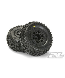 Proline Racing R Badlands SC 2.2/3.0 M2 Mnt Split Six Whl(2):SLH