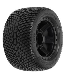 Proline Racing Road Rage 3.8 TRA Mnt Desperado 1/2Off 17mmWhl,Blk