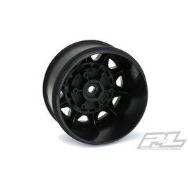 "Proline Racing Raid 2.8"" Black 6x30 Removable Hex Wheels F/R"