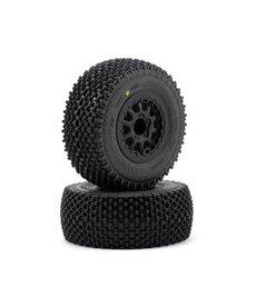 Proline Racing Gladiator SC 2.2,3.0 M2 Mnt Renegade Whl, Blk:SLH