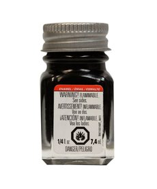 TES Enamel 1/4 oz Gloss Black