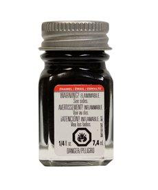 TES Enamel 1/4 oz Flat Black