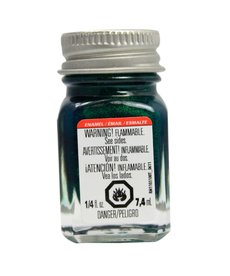 TES Enamel 1/4 oz Metal Flake Green