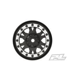 "Proline Racing Impulse 1.9"" Black/Silver Wheel Crawlers(2) F/R"