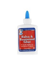 MID Balsa & Basswood Pegamento 4 oz