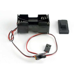 Traxxas 1523 Battery Holder/Switch/Cover Villain