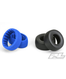 Proline Racing Fr, R Slide Job SC 2.2 / 3.0 M2 Dirt Oval Mod llantas (2)