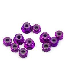 175RC 175RC B6.1/B6.1D Aluminum Nut Kit (Purple) (11)