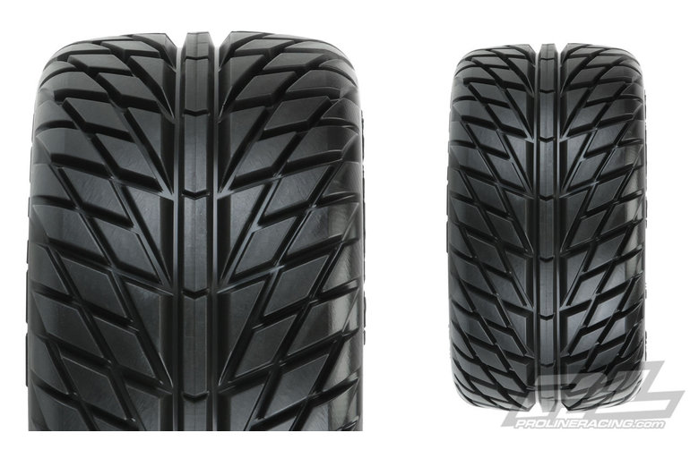 "Street Fighter LP 2.8"" Street Truck Tires F/R"