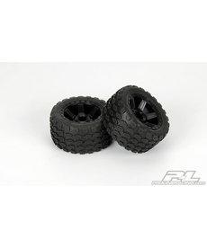 Proline Racing Fr,R Dirt Hawg 2.8MntDesperadoBlkWhl:NST,NRU,RU,ST