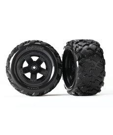 Traxxas Neumáticos y ruedas, ensamblados, pegados (ruedas Teton de 5 radios, neumáticos Teton) (2) Neumáticos y ruedas, ensamblados, pegados (ruedas Teton de 5 radios, neumáticos Teton) (2) Pieza de recambio para estos modelos: 1/18 LaTrax Teton
