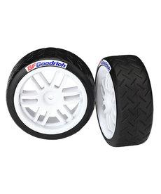 Traxxas Neumáticos y ruedas, ensamblados, pegados (ruedas Rally, neumáticos BFGoodrich® Rally (compuesto blando) (2) Neumáticos y ruedas, ensamblados, pegados (ruedas Rally, neumáticos BFGoodrich® Rally (compuesto blando) (2)