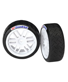 Traxxas Tires and wheels, assembled, glued (Rally wheels, BFGoodrich Rally tires (soft compound) (2)