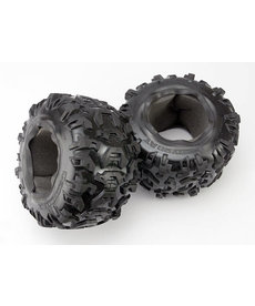 Traxxas Tires, Canyon AT 3.8' (2)/ foam inserts (2)