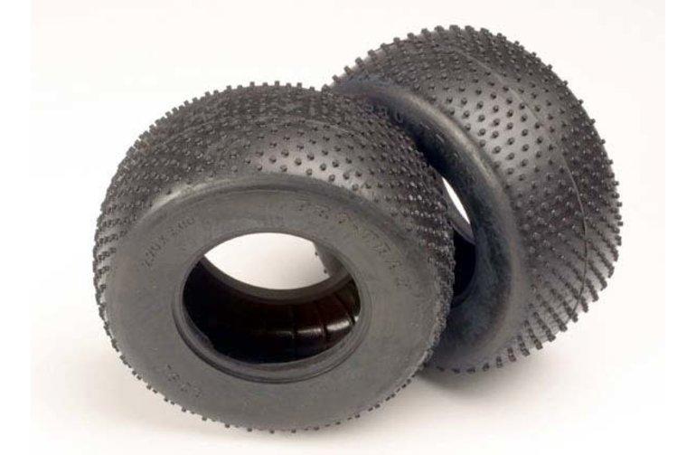 Traxxas Tires, Pro-Trax mini-spiked 2.2' (rear) (2) 4792