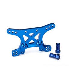 Traxxas 6440 Torre de choque, delantera, aluminio 7075-T6 (anodizado azul) XO-1