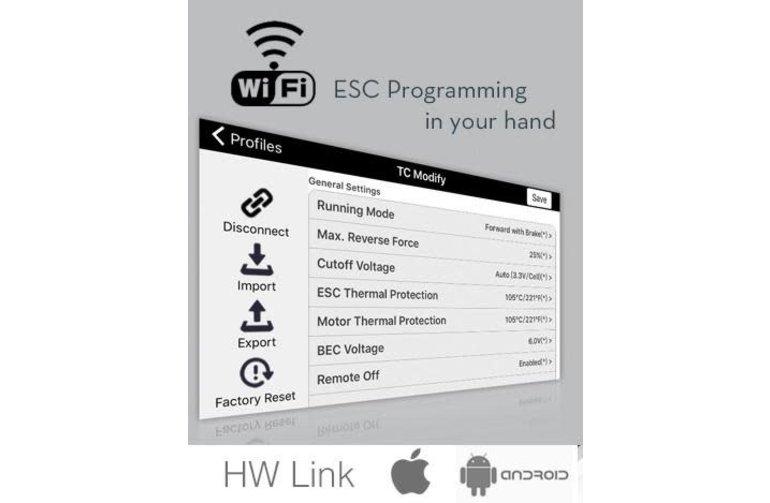 Hobbywing HWI30503000 HobbyWing WiFi Express Module For XeRun ESC's (XR10 Series)