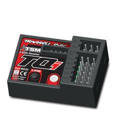 Traxxas 6533 Receptor, micro, TQi 2.4GHz con telemetría y TSM (5 canales)