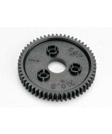Traxxas 3957 Engranaje recto, 56 dientes (paso métrico 0,8, compatible con paso de 32)