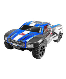 Redcat Racing Azul Blackout SC Escala 1/10 RTR Eléctrico Con Escobilla Camión de Curso Corto