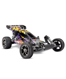 Traxxas 24076-4 Bandit VXL: 1/10 Scale Off-Road Buggy. Ready-to-Race® with TQi Traxxas Link™ Enabled 2.4GHz Radio System, Velineon VXL-3s brushless ESC (fwd/rev), and Traxxas Stability Management (TSM)®.
