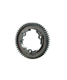 Traxxas 6449R Spur gear, 54-tooth, steel (wide-face, 1.0 metric pitch)