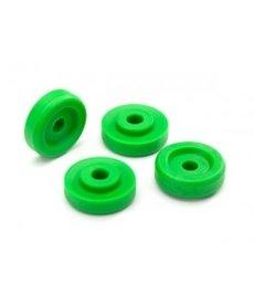 Traxxas 8957G Arandelas de rueda, verdes (4)