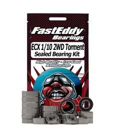 FastEddy Baleros ECX 1/10 2WD Torment Kit de rodamientos sellados TFE3976