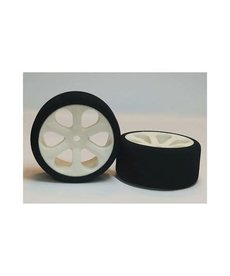 BXR BXRF2806 Neumáticos para turismo de 28 mm, púrpura