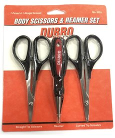 DUB RC Body Reamer, Scissors (Curved and Straight) Set (DUB2331)