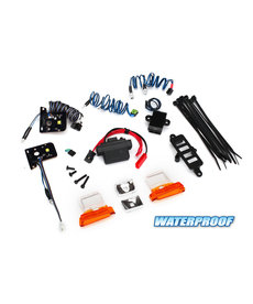 Traxxas 8035 LED light set, complete with power supply (contains headlights, tail lights, side marker lights, & distribution block) (fits #8010 body)