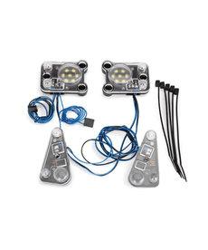 Traxxas Kit de faros LED / luces traseras (se adapta al cuerpo #8011, requiere fuente de alimentación #8028)