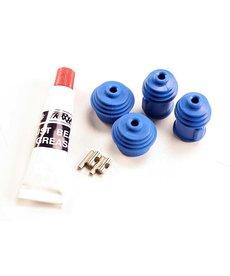 Traxxas 5129 Kit de reconstrucción (para ejes de transmisión de velocidad constante de acero Revo® / E-Revo® (primera generación) / T-Maxx® / E-Maxx) (incluye pasadores, guardapolvos y lubricante para 2 conjuntos de ejes de transmisión)