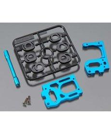 Tamiya Tamiya Soporte de motor de aluminio RM01 TAM54356 Azul