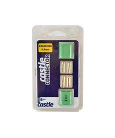 CSE Conector de bala polarizado CC, 6.5 mm 011-0053-00
