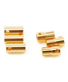 CSE Juego de conectores de bala CC de alta corriente de 6.5 mm