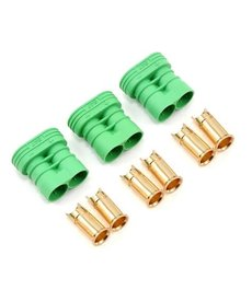 Castle Creations 6.5 mm Polarized Connectors Female Multi-Pack