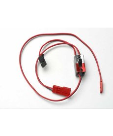 Traxxas Arnés de cables para RX Power Pack, vehículos Nitro Traxxas (incluye interruptor de encendido / apagado y conector de carga)