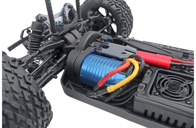 Redcat Racing RER07014 Blackout XTE PRO Brushless 1/10 Scale Electric Monster Truck Silver SUV