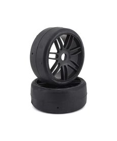 GRP Tyres GRP GT - TO2 Slick Belted Pre-Mounted 1/8 Buggy Tires (Black) (2) (S1)