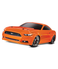 Traxxas 83044-4ORNG Ford Mustang GT 1/10 Scale AWD Supercar Ready-To-Race with TQ 2.4GHz radio system and XL-5 ESC (fwd/rev)